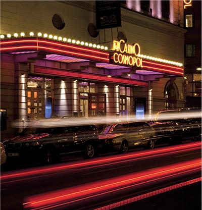 Affärsområde Casino Metropol och Vegas