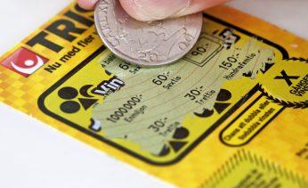 Det unga Örebroparet fick en ordentlig chock efter att ha skrapat fram en miljon kronor på Triss.
