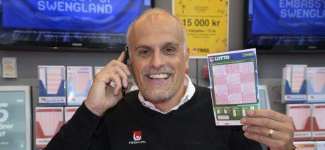 Uppsalabon vann miljoner på Lotto.
