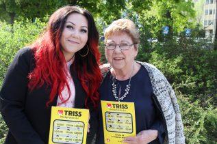 Dubbel Trissvinst farmor Ida Fredin och barnbarnet Sara Gill.
