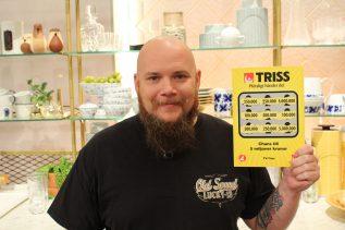 Tommy från Göteborg vann en kvarts miljon kronor på Triss.