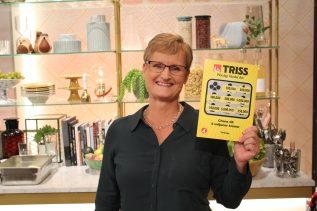 Marie Hjerpe från Kungsängen vann 100 000 kronor på Triss.