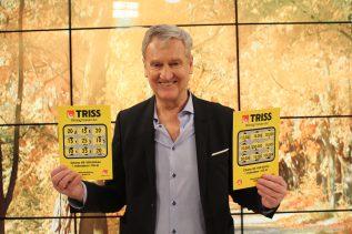 Rune Erlandsson kan nu betrakta sig som miljonär efter att ha skrapat Triss i TV.