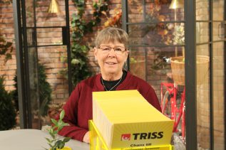 Barbro Svensson är en riktig turkvinna som i morse vann 100 000 kronor på Triss, hennes andra storvinst i år.