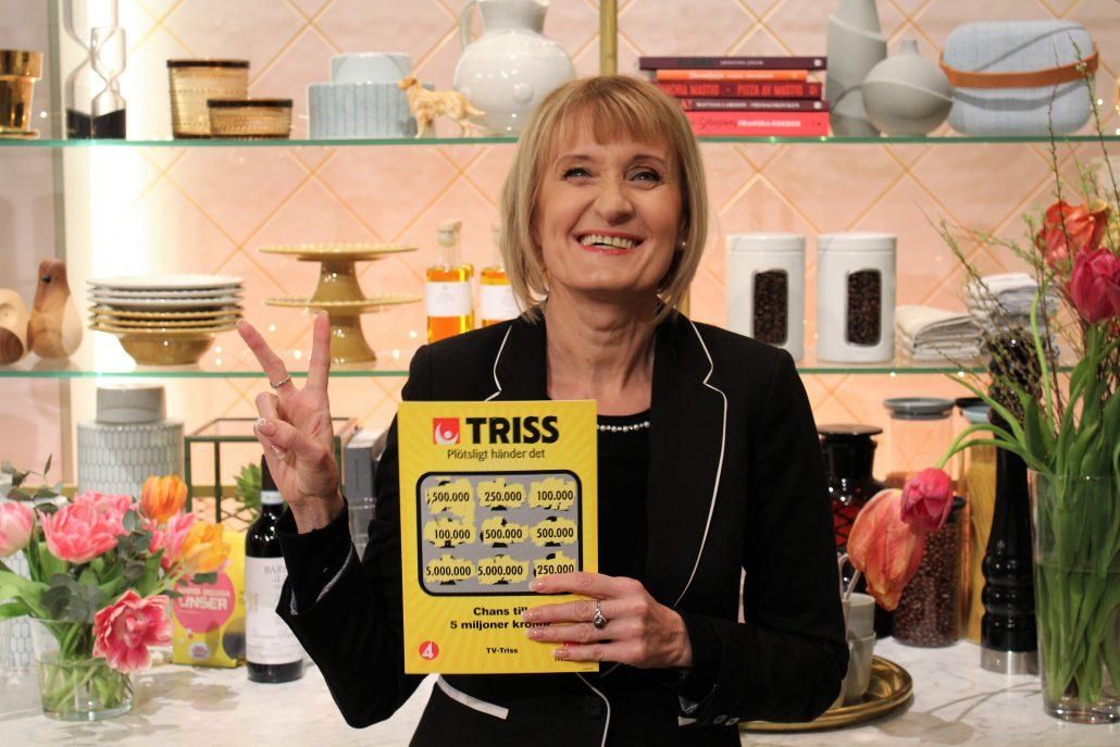 Edina Taric vann 500 000 kronor på Triss, pengar som räcker både till körkort till barnen och en drömresa till Bali.