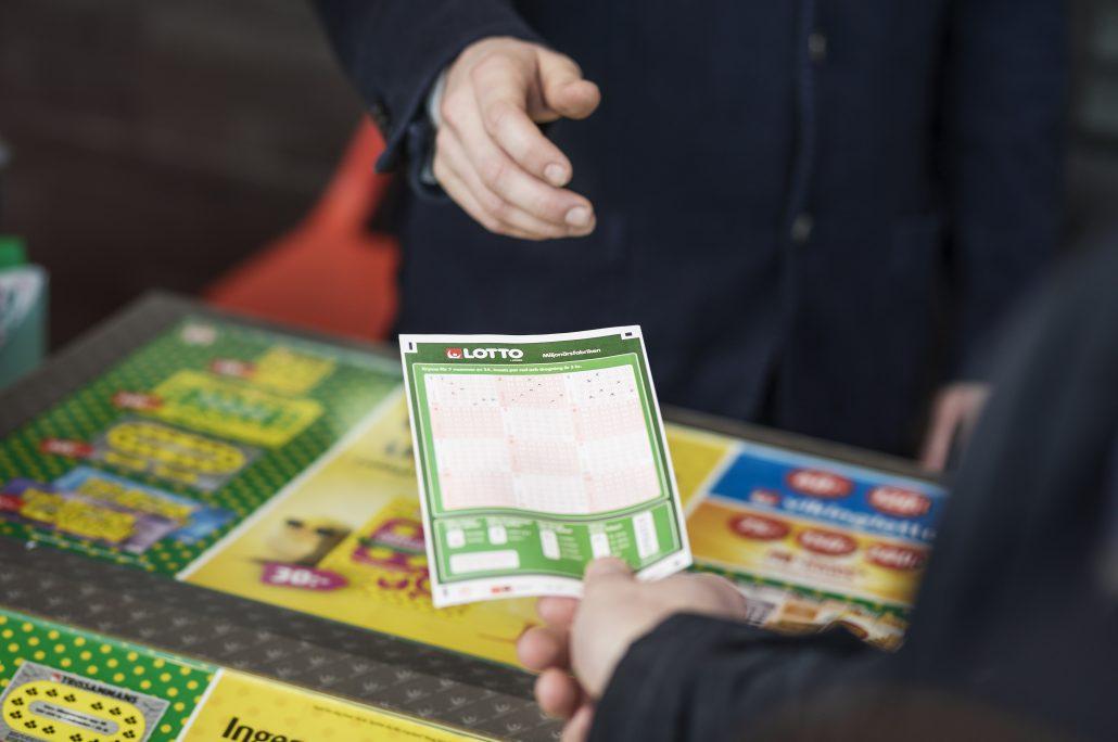 Ny miljonvinst på Lotto, den här gången till Sundsvall.