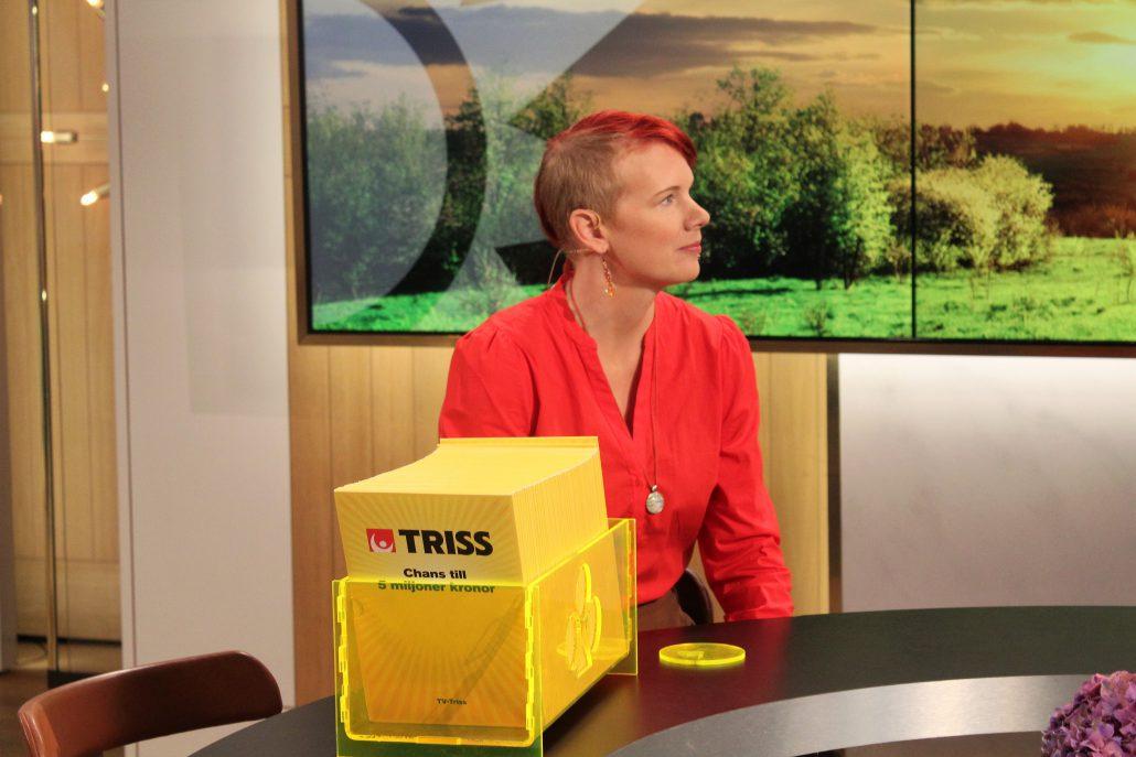 Det blev en riktig storvinst för Marie Särnblad från Burträsk.