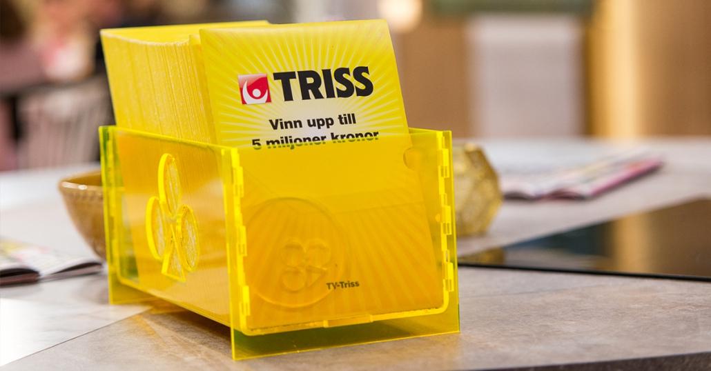 De tre Alingsåsvinnarna kommer i sommar att skrapa Triss i TV4.