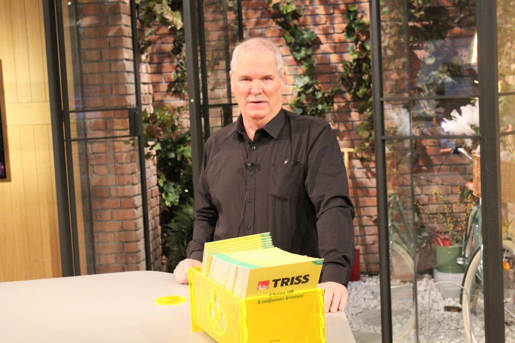 Lars Olov vann 100 00 kronor när han skrapade Triss i TV4.
