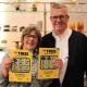 Eva och Jan Andersson från Timbro vann 10 000 kronor i månaden i 10 år på Triss.