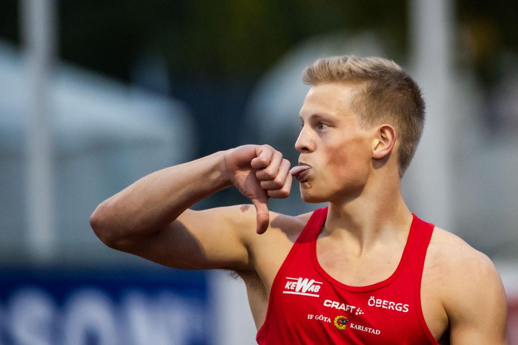 Henrik Larsson har stora mål för sin karriär och med Elitidrottsstipenidet i ryggen ska han fortsätta att utvecklas. Foto: Fredrik Karlsson / BILDBYRÅN / Cop 185