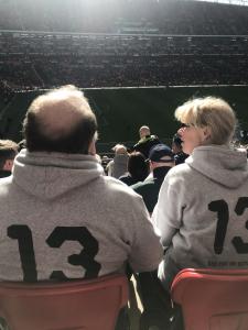 Ingemar och hans fru på Wembley