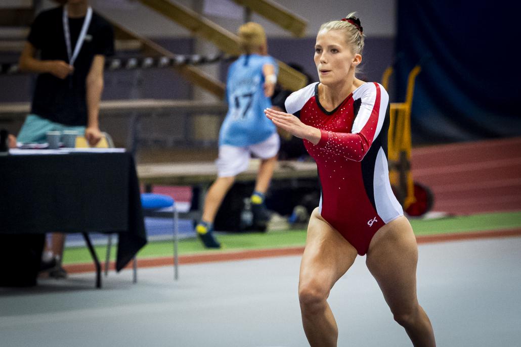 Lina Sjöberg har tilldelats Elitidrottsstipendiet för andra gången.