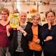 Fyra vänner från Blekinge vann en kvarts miljon kronor på Triss i tv efter en 50 år gammal tradition.