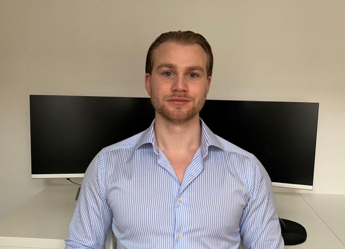 Kristofer Gustavsson, vinnare Poker-SM 2019