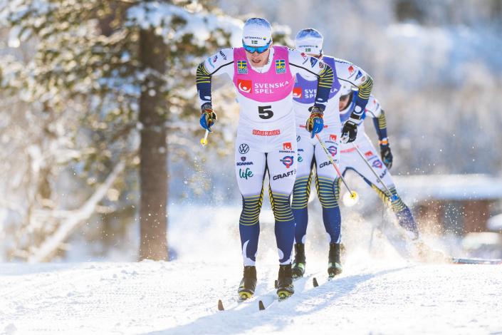 Svenska Spel tärker banden till längdskidåkningen genom att bli partner till Ski Tour 2020. Foto: Mathias Bergeld / Bildbyrån