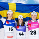 Stina Nilsson, t v, är en av alla landslagsåkare som ser fram emot en ny säsong utan större mästerskap.