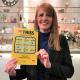 Läraren Marianne Pieslinger från Trollhättan vann 100 000 kronor på Triss i tv.