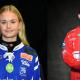 Tilda Ström och Oscar Wikblad blev av Svenska Spel och Svenska Bandyförbundet utsedda till Årets kometer. Foto: Villa Lidköpings BK/Edsbyns IF