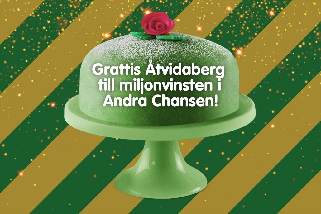 En medelålders man från Åtvidaberg fick sig en ordentlig glädjechock när han gratulerades för en miljon kronor i Andra Chansen. Vinsten kommer göra underverk i hans vardag och kommer göra att han både kan betala av lån och bygga upp ett sparkapital.