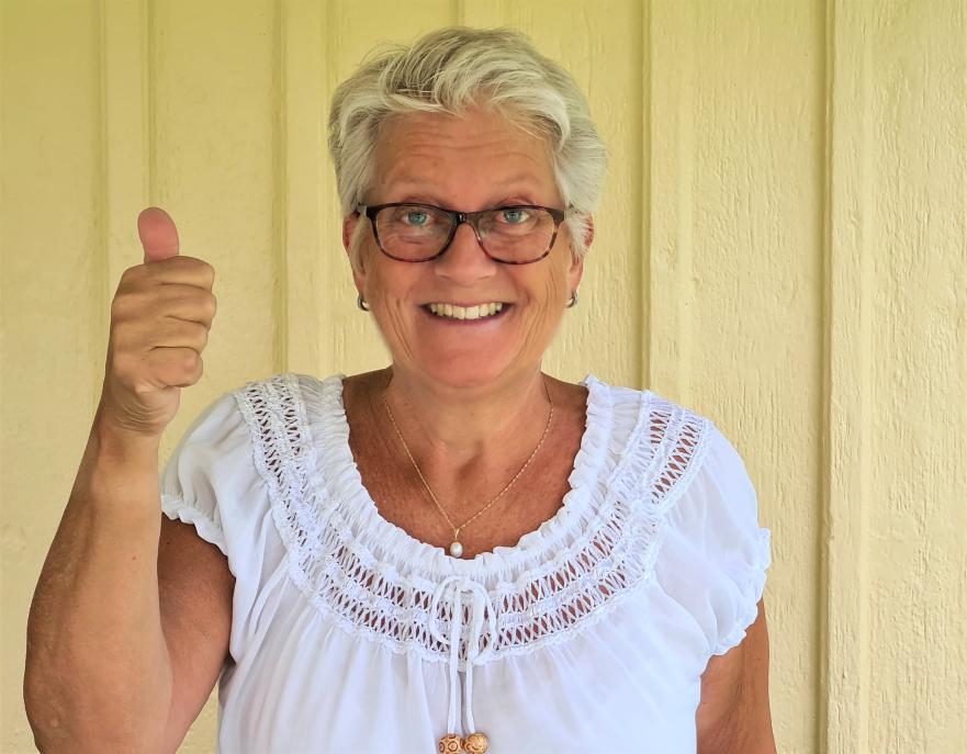 Louise och hennes 90-åriga mamma från Delsbo vann 250 000 kronor på Triss i tv på Midsommarafton. Vinsten kommer gå till att uppfylla drömmarna om en vandring i fjällen och en resa till USA.