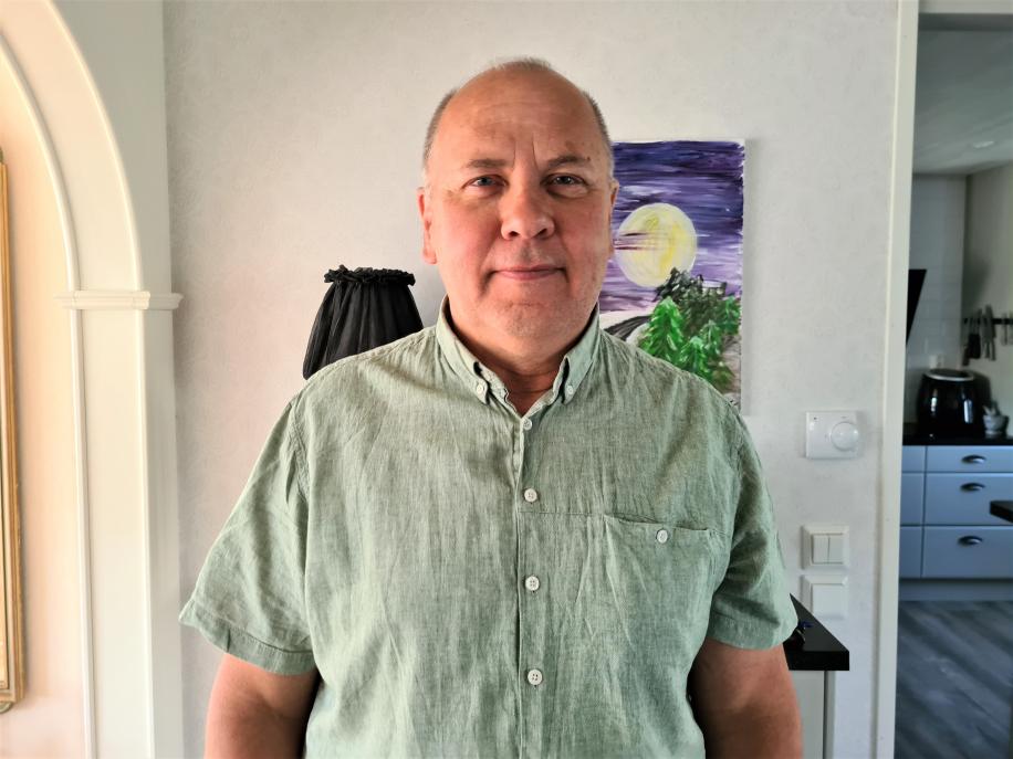 Mikael från Fagersta fick Triss i glädje då han fyllde 60 år, gifte sig och skrapade fram en garanterad storvinst på Triss under samma dag.
